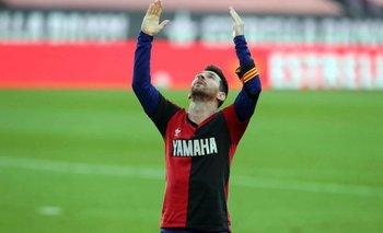 No entendieron nada: la multa de La Liga a Messi por el homenaje a Maradona | Murió diego maradona