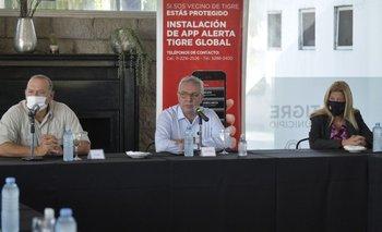 Zamora recibió a Berni y anunciaron inversión para la Policía | Tigre