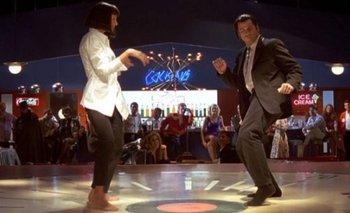 John Travolta recreó su baile de Pulp Fiction vestido de Papá Noel | Cine