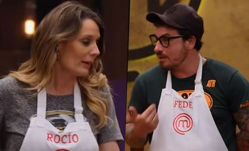 Se pudrió MasterChef: Fede Bal se cansó y apuró a Rocío Marengo | Masterchef celebrity