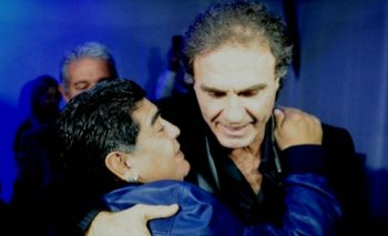 Ruggeri se emocionó con un video inédito de Maradona   Televisión