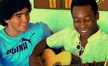 Emotivo recuerdo de Pelé a una semana de la muerte de Maradona | Murió diego maradona