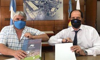 Acuerdo entre el Astillero Río Santiago y el Frente Productivo Nacional | Industria