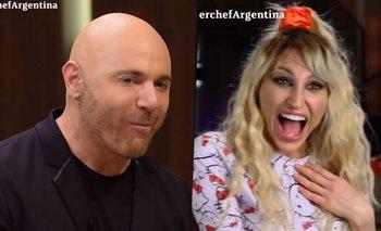 """Martitegui coqueteó a Vicky Xipolitakis en MasterChef: """"No me mires""""   Televisión"""