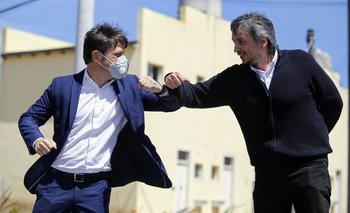 Axel Kicillof y Máximo Kirchner, juntos en la entrega de viviendas | Provincia