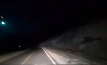 Video: así cayó un meteorito en Neuquén | Espacio exterior