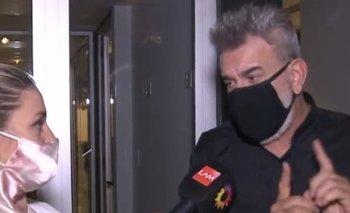 La furia de Miguel Ángel Rodríguez con un móvil de Ángel de Brito   Televisión