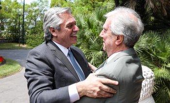El mensaje de Alberto por la muerte de Tabaré Vázquez   Alberto fernández