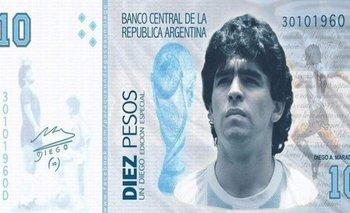 Presentan proyecto para que Maradona aparezca en billetes de mil pesos | Murió diego maradona