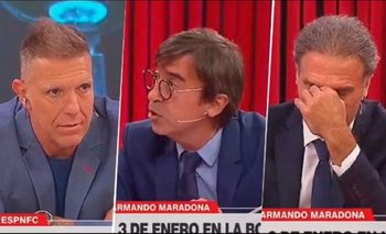 ESPN FC: Benedetto citó a un jerarca nazi en vivo y Fantino lo dejó en evidencia | Espn fc show