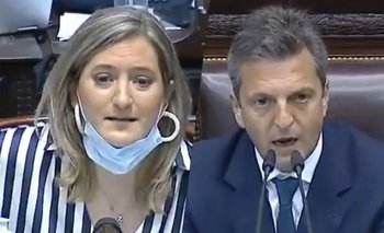 "Massa paró en seco a una diputada 'pro vida': ""Es un disparate"" 