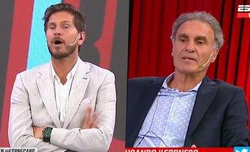 El Pollo Vignolo y Ruggeri estallaron contra Luque y Morla   Diego maradona