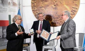 Alberto Fernández inauguró la Casa de los Premios Nobel Latinoamericanos | Un año de gestión