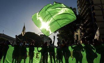 Galería de fotos: la marea verde ocupó la calle para pedir por el aborto legal   Aborto legal