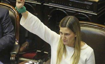 """Lospennato, en el debate del aborto: """"Esta noche nos inscribimos en la historia""""   Aborto legal"""