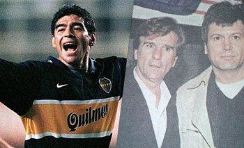 RRDT: el día que Carlín Calvo dirigió a Boca en la vuelta de Maradona  | Rrdt