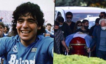 ¿El Napoli comprar el cementerio privado donde está Maradona? | Murió diego maradona