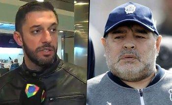 Filtran audios escalofriantes de Morla a Diego Maradona antes de morir   Diego maradona
