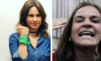 Aborto legal: Nancy Dupláa escrachó a Cecilia Pando en Twitter | En redes