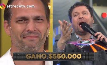Un participante ganó medio millón de pesos y emocionó a Guido Kaczka   Guido kaczka