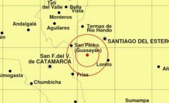 Un sismo sacudió Santiago del Estero, Tucumán y Catamarca | Santiago del estero