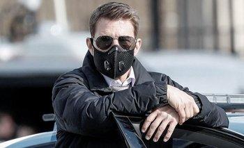 La furia de Tom Cruise contra los que no usan barbijo | Cine