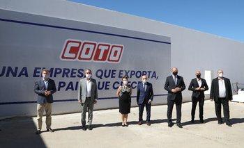 En su 50° Aniversario, COTO reinauguró frigorífico en Rosario | Rosario