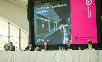 Anuncian más obras de transporte para impulsar el federalismo | Alberto presidente