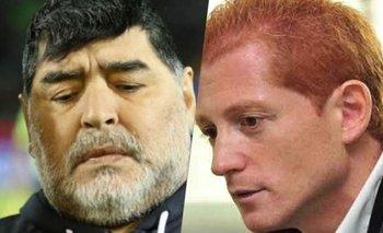 "Liberman y un repudiable reclamo a Diego Maradona: ""Me traicionó"" | Murió diego maradona"