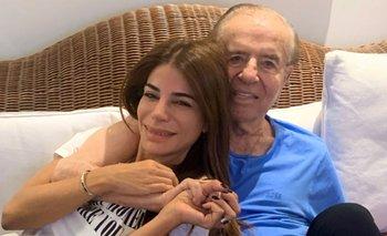 Zulemita Menem publicó un mensaje en redes sociales sobre la salud de su padre | Año nuevo