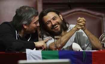 Grabois cierra el 2020 con un acto junto a Máximo Kirchner y Cafiero | Patria grande