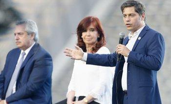 Alberto, Cristina y Axel presentan la lista bonaerense en Escobar | Elecciones 2021
