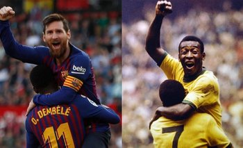 Histórico: Lionel Messi igualó el récord de Pelé | Lionel messi