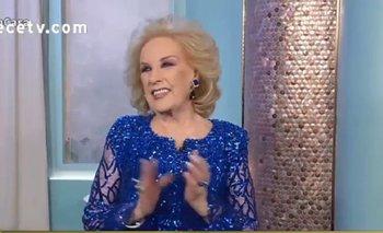 Así fue la vuelta de Mirtha Legrand a la pantalla de Canal 13 | Mirtha legrand