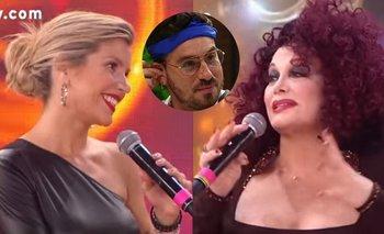La confesión de Carmen Barbieri a Laura Fernández sobre Fede Bal   Cantando 2020