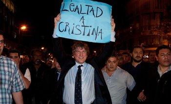 """Boudou: """"Cristina es la principal perseguida política de la Argentina""""   Amado boudou"""