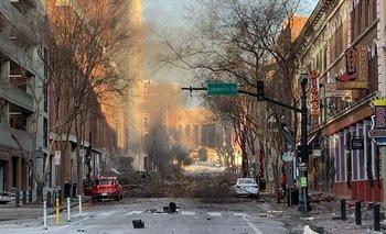 Fuerte explosión en Nashville: investigan si fue un atentado | Estados unidos