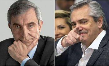 """""""Problema psicológico"""", el bochornoso diagnóstico de Nelson Castro sobre Alberto   Alberto fernández"""