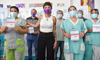 Quilmes: comenzó el operativo de vacunación contra el coronavirus   Vacuna del coronavirus