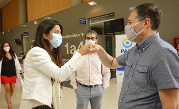 Primeras vacunas del PAMI contra el coronavirus en Esteban Echeverría | Provincia
