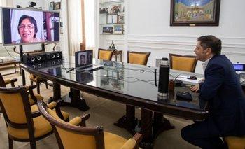 Axel Kicillof habló con Milagro Sala y pidió que salga en libertad | Milagro sala detenida