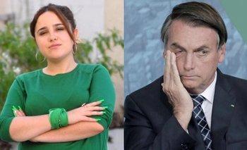 Ofelia cruzó a Bolsonaro y le hizo una advertencia por el aborto | Aborto legal