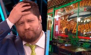 Nicolás Wiñazki fue echado de un restaurante y explotó de furia | Televisión