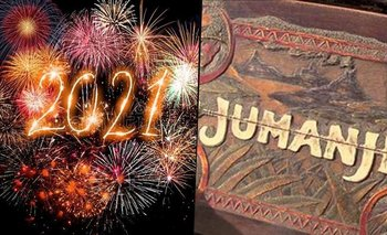 """Año Nuevo 2021: por qué hay que gritar """"Jumanji"""" a las 12 de la noche   Año nuevo"""