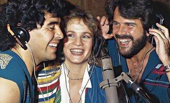 Lucía Galán habló el supuesto embarazo y aborto de Diego Maradona | Lucía galán